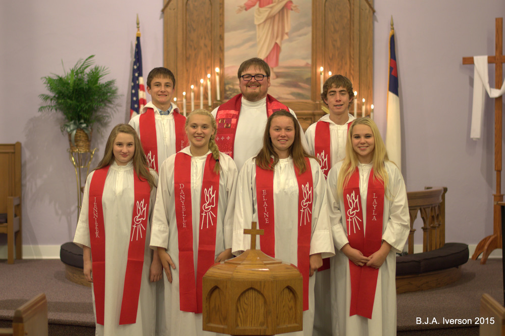 2015 Confirmation Class!