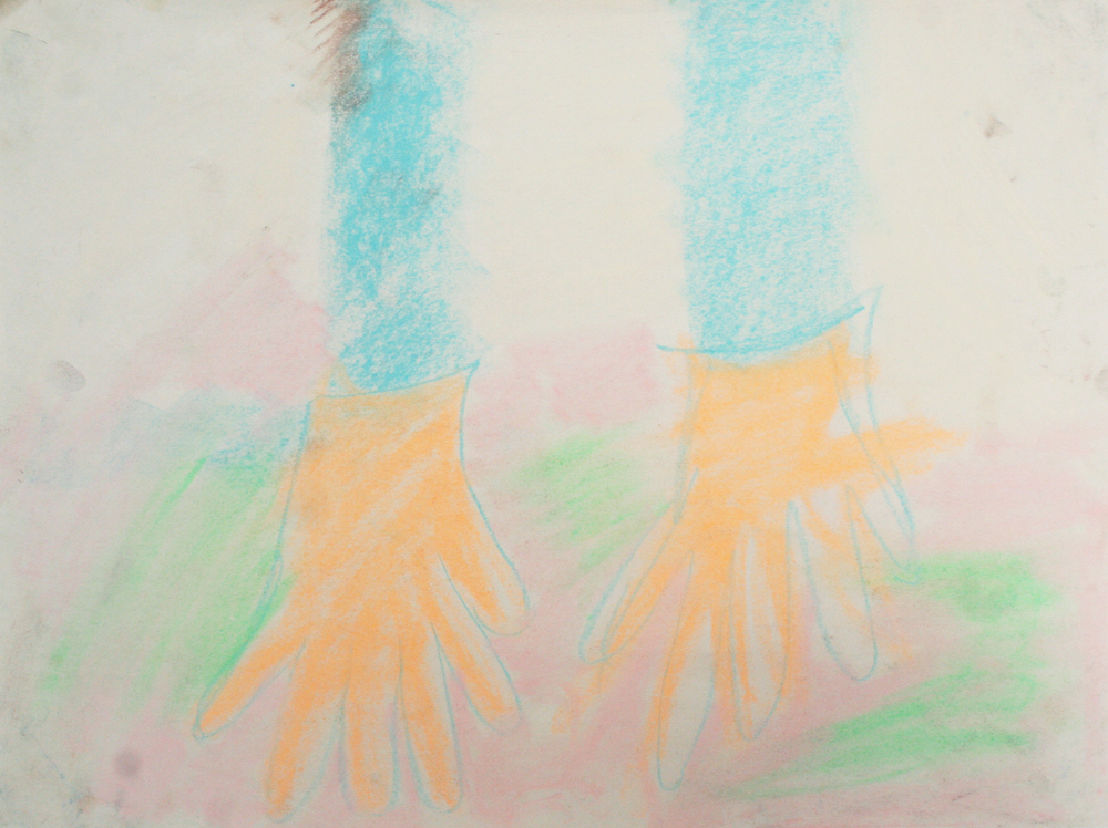 Rachelle Sawatsky, Skin Colored Gloves, 2014