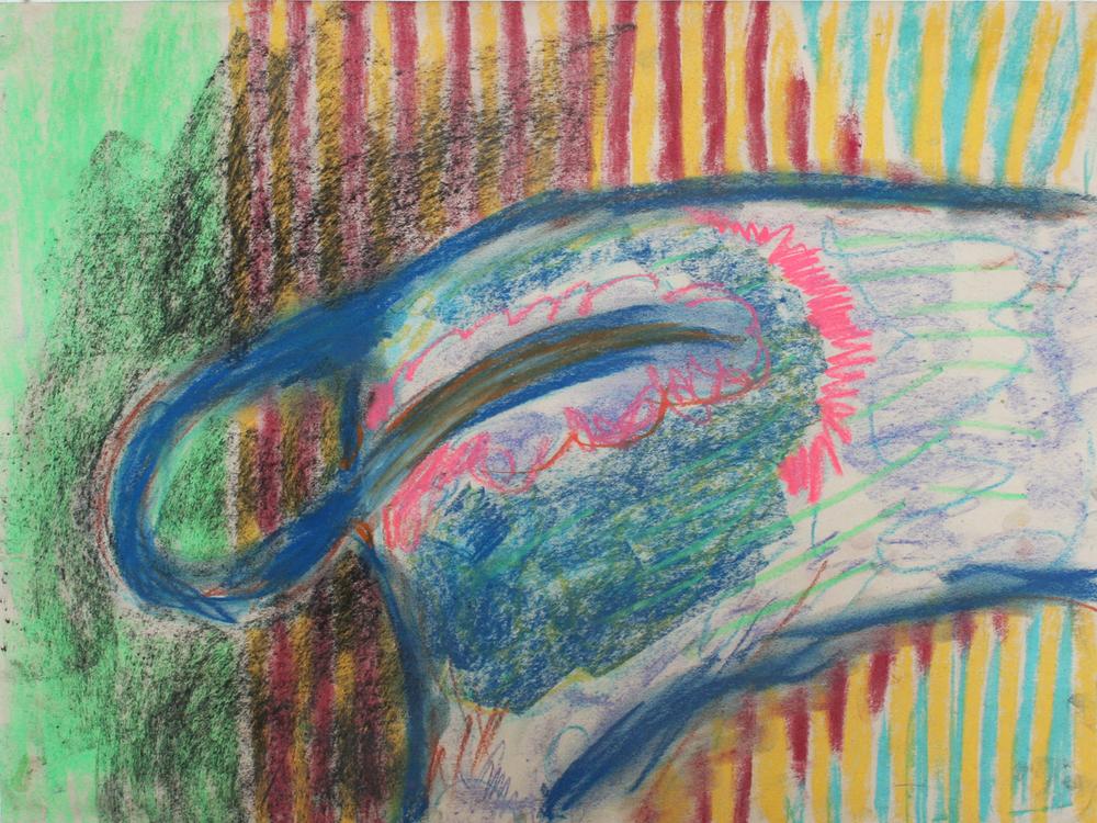 Rachelle Sawatsky, Butts (striped), 2014