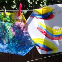Upcycled & Away Kites