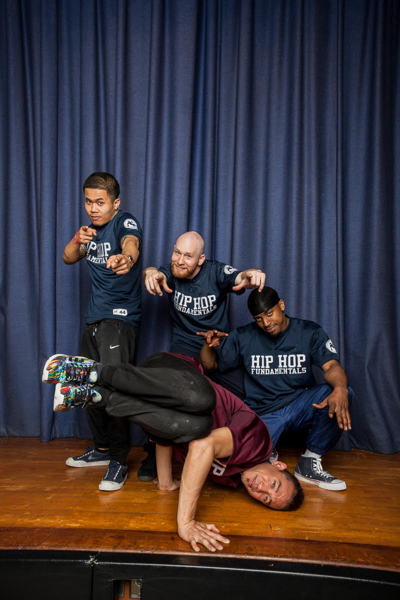 Hip Hop Fundamentals is a diverse group of professional breakdance performers and instructors dedicated to teaching youth empowerment, social issues, and academic content through Hip Hop Dance.