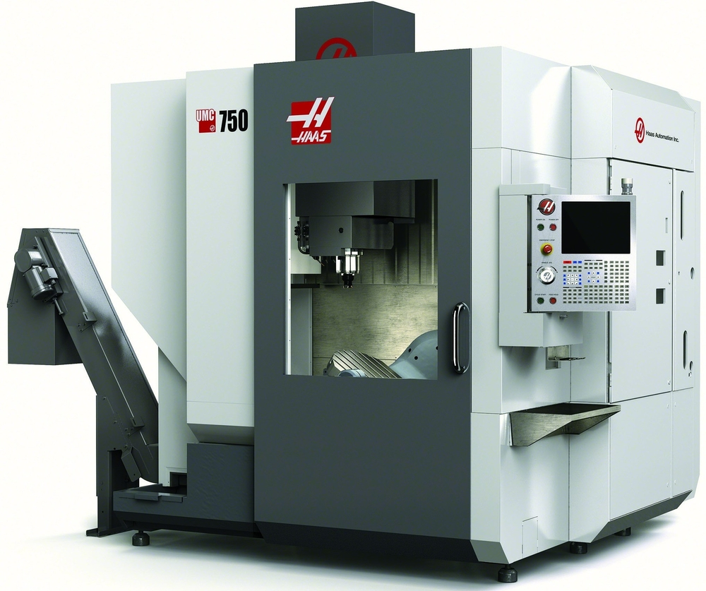 "2013 Haas UMC-750 5-Axis Machine   30"" x 20"" x 20""  24""(max.)-4""(min.) spindle nose to table"