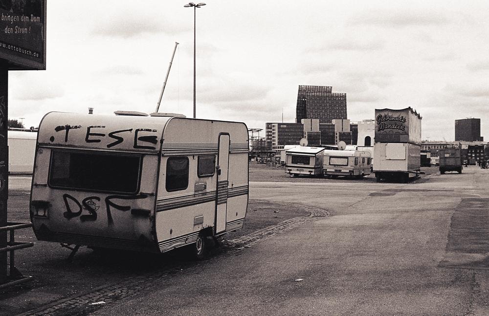 A derelict circus in Hamburg.