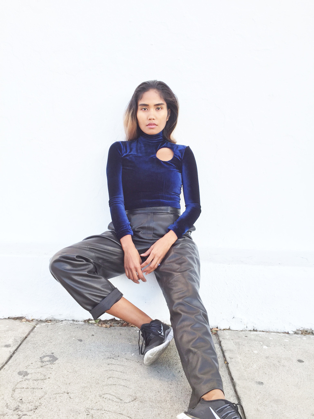 htcaf turtleneck handmade in los angeles by anjia jalac