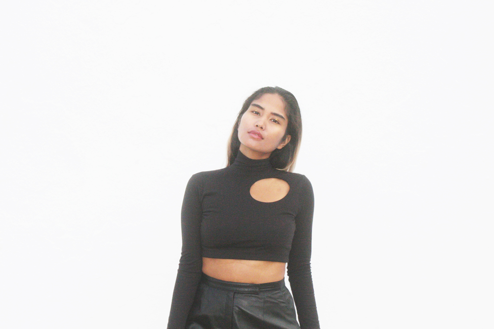 #HTCAF Cropped Turtleneck Handmade by Anjia Jalac for Various Loveaffairs