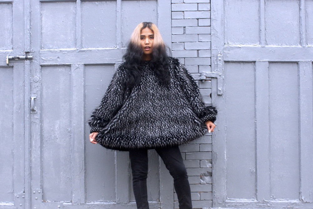handmade faux fur luxury pullover anjia jalac