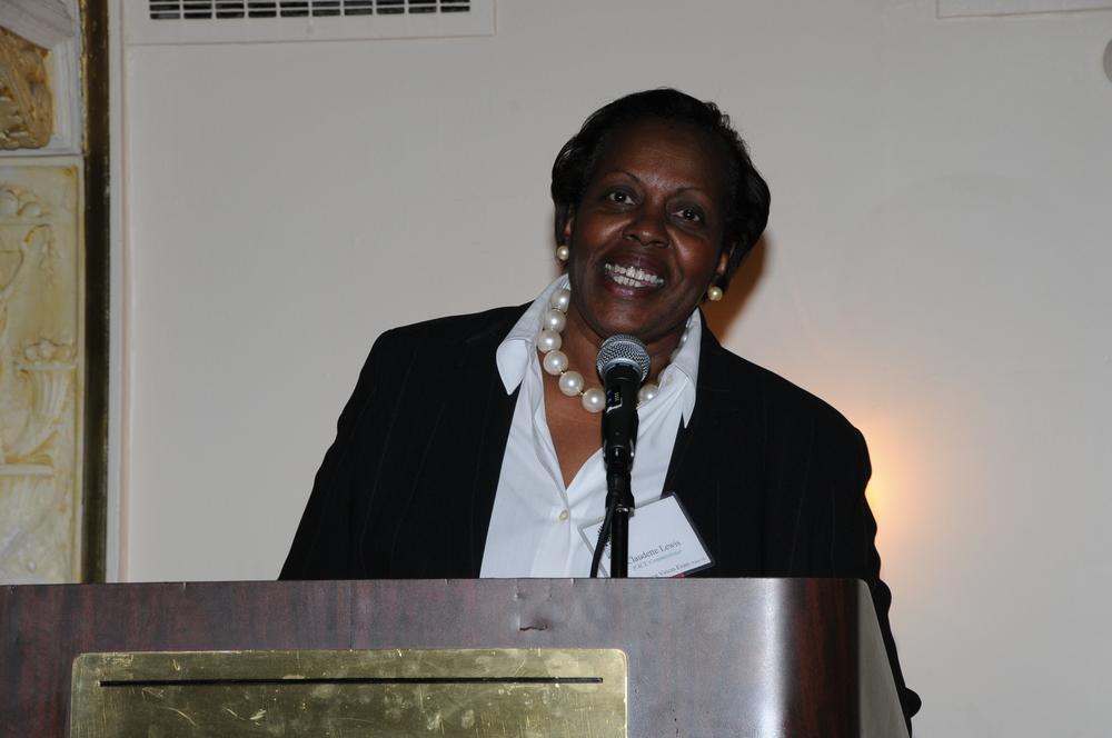 Claudette Lewis Remarks.JPG