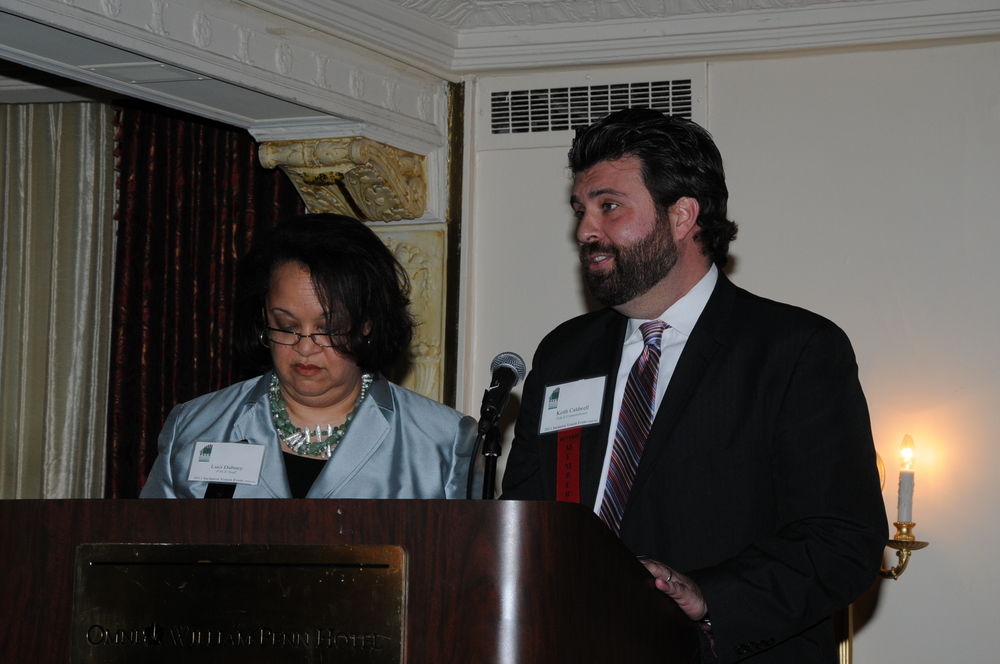 Luci Dabney & Keith Caldwell Remarks 4.JPG