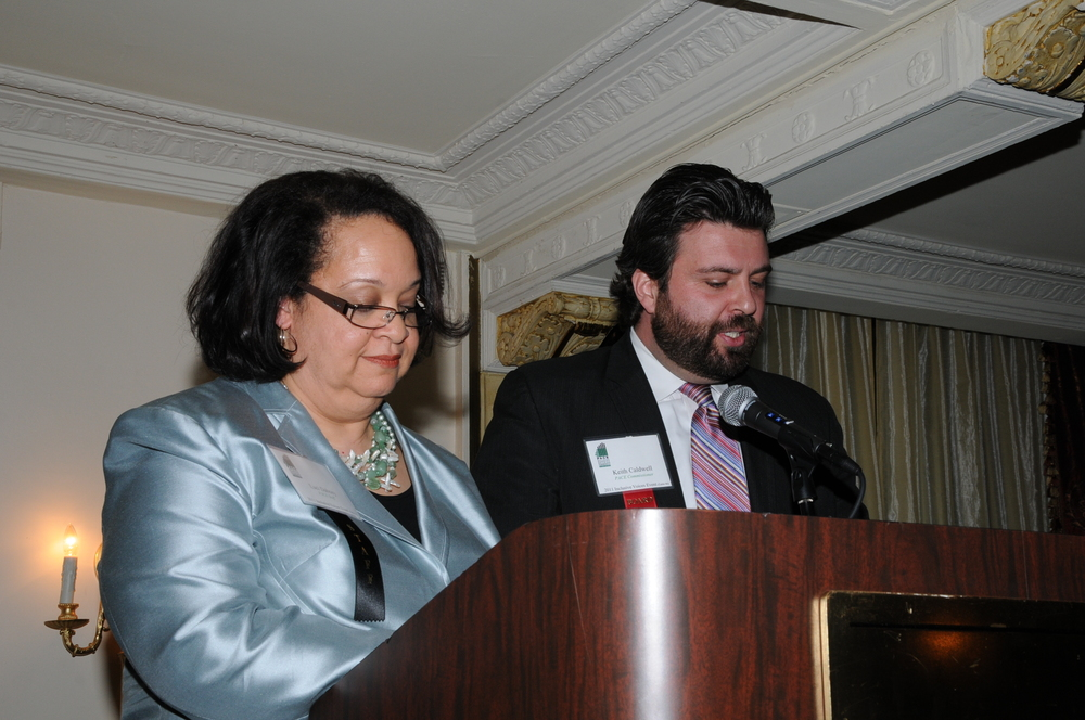Luci Dabney & Keith Caldwell Remarks.JPG
