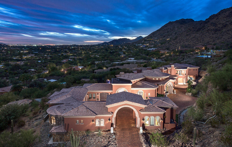 Paradise Valley captivating mountain views with casita and guest house $9,900,000 - Walt Danley with Walt Danley Realty