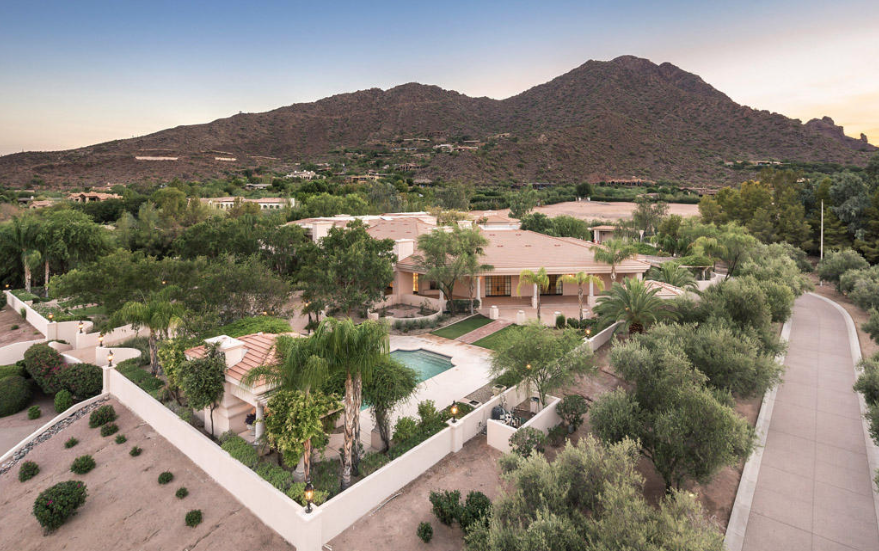 Paradise Valley gated custom estate on 4.8 acres with mountain views $7,750,000 - Walt Danley with Walt Danley Realty.png