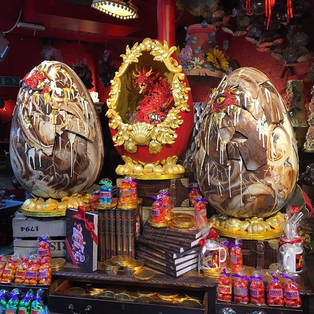 Chocolate dragon eggs I will devour you!