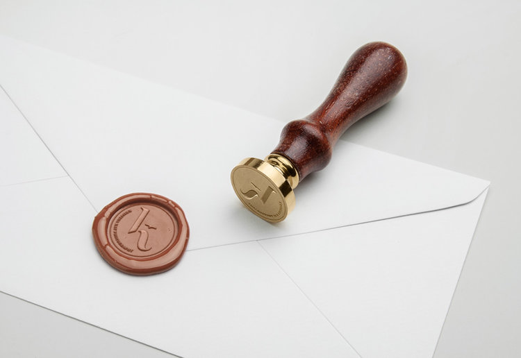 Monogram Wax Seal Stamp V1