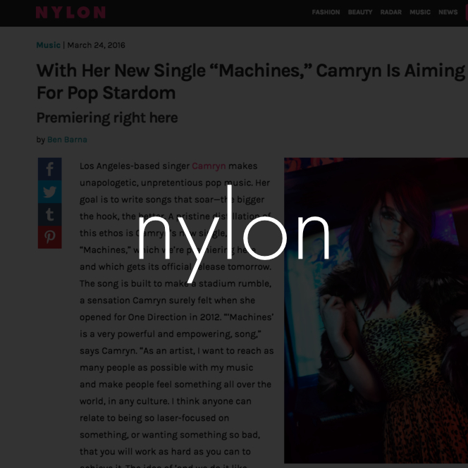 Copy of camryn nylon