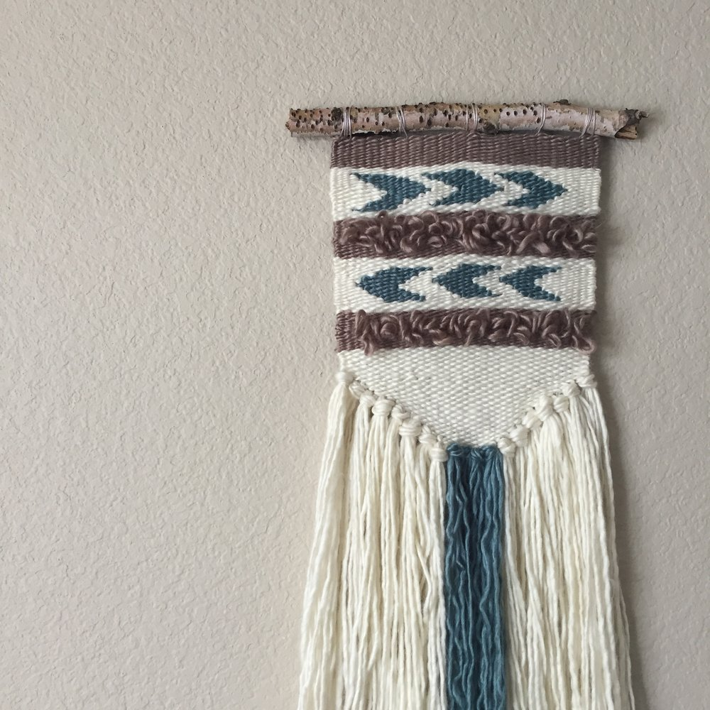 A custom weaving for a sweet friend.
