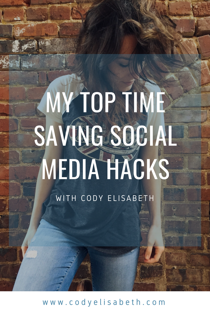 top time saving social media hacks cody elisabeth