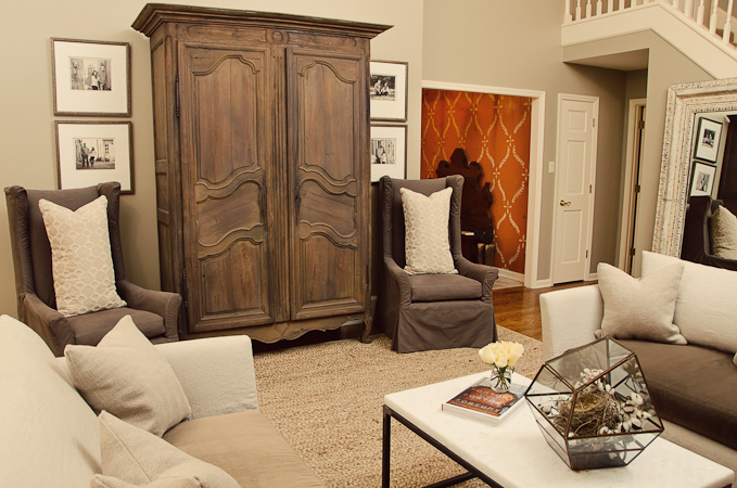 Bella Vita Living Room — B.GAINES INTERIOR DESIGN
