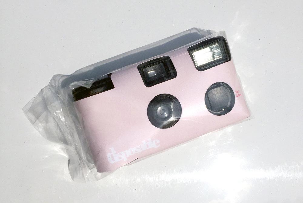 Disposable Camera – Pink  $20.00