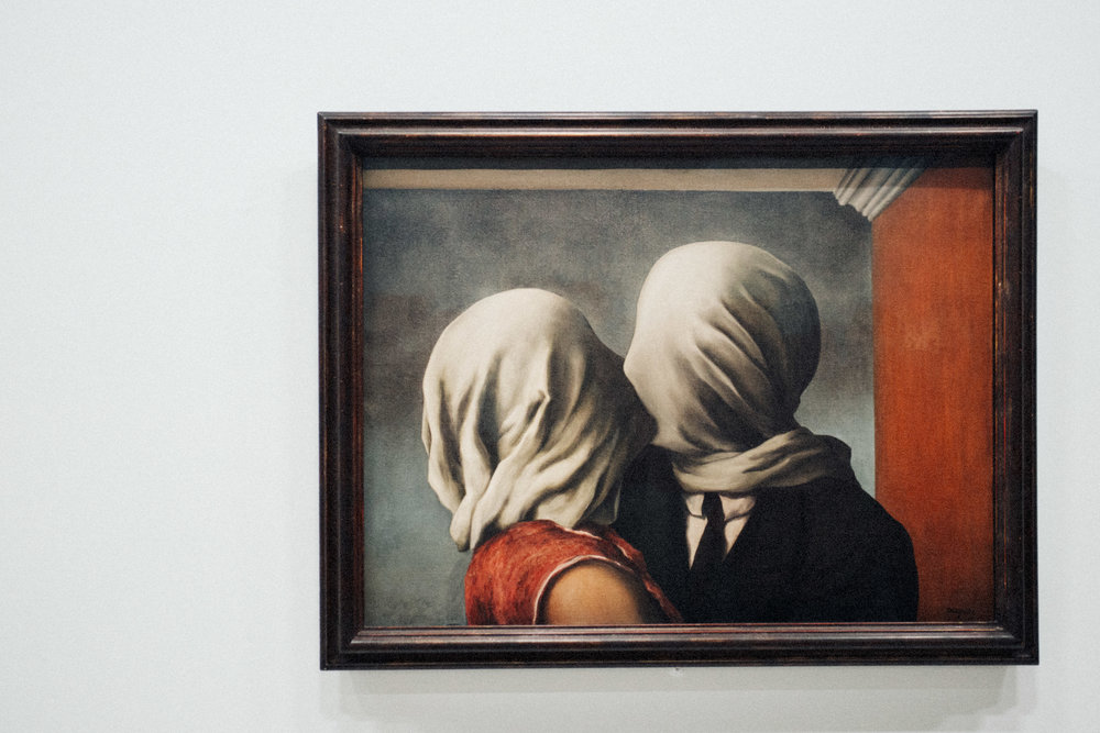 the lovers, 1928 by rené magritte