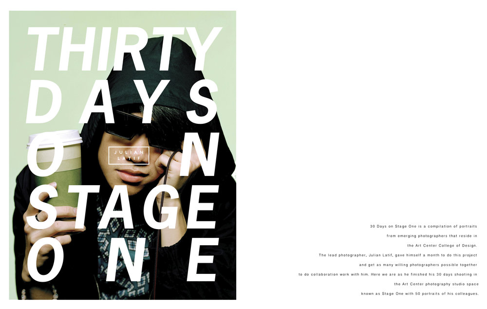 thirty days on stage one
