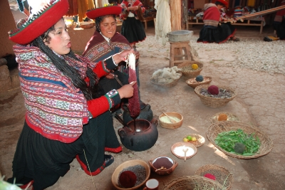 Traditional people of the Andes mountains.
