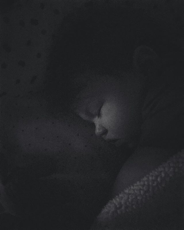I am completely undone by her sweet little sleeping face. She runs me ragged, makes me laugh, gives the sweetest hugs+kisses, and tries my patience nonstop from the moment those precious eyelids open  in the morning but in the stillness of the night I can almost see that newborn face again.  When this girl is sleeping I am truly a puddle over her. I can't believe the Lord saw fit to give us such a beautiful, smart, and funny baby girl to love. She's the sweetest gift I've yet to receive. #norajaneknuffles #oursweetnorajane #babygirlatkinson #theatkinsonadventures
