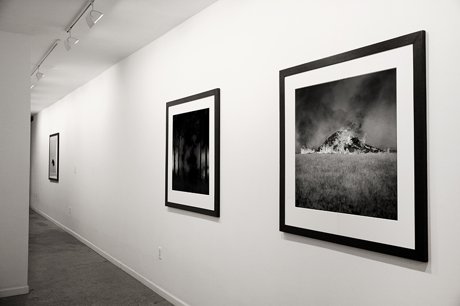 """Monument"" and ""Jera (Blót)""  (right to left) Jeremy Dyer, 2013 Pigment print on cotton rag 30x30 inches"