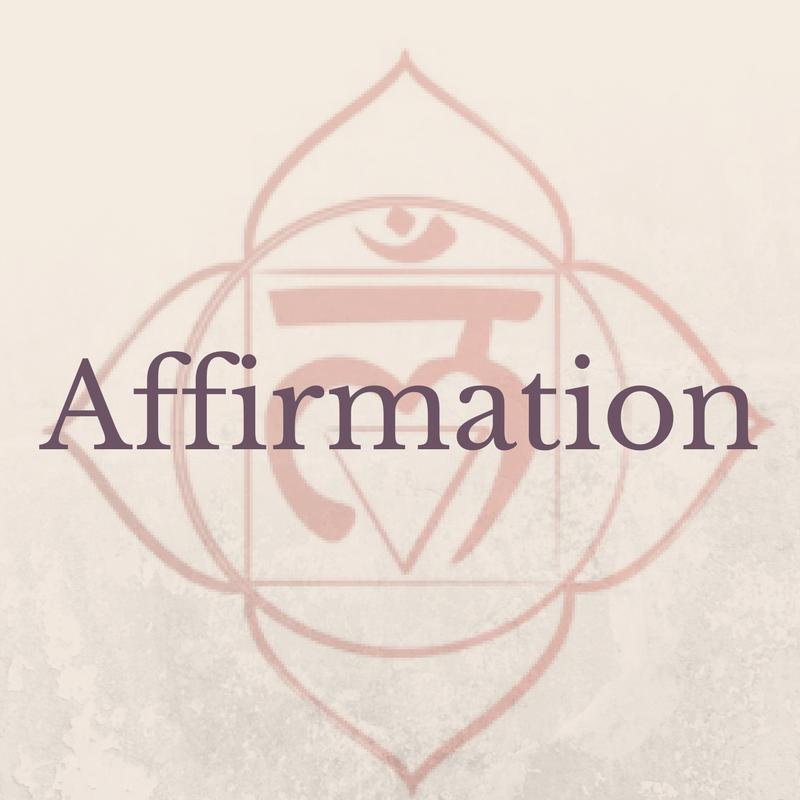 Affirmation Root Chakra