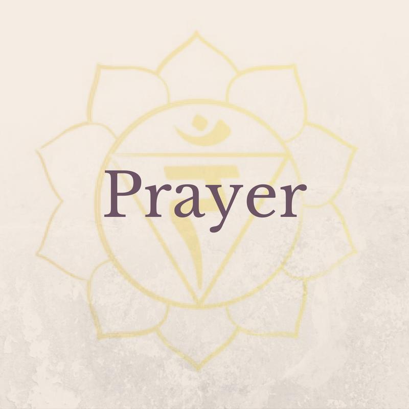 Prayer Solar Plexus Chakra