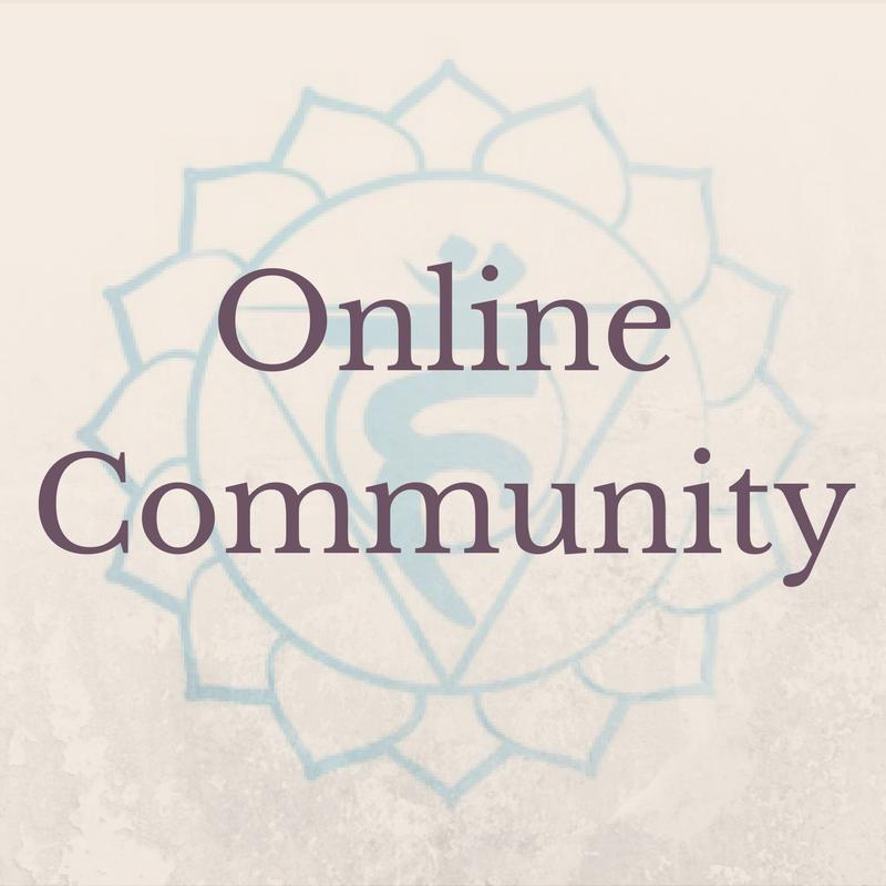 Online Community Throat Chakra