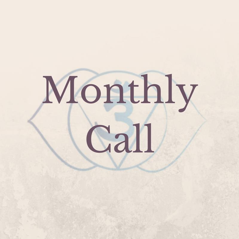 Monthly Call Third Eye Chakra