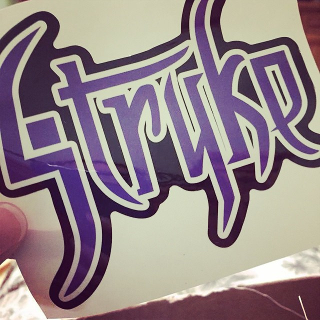 The STRYKE Sticker