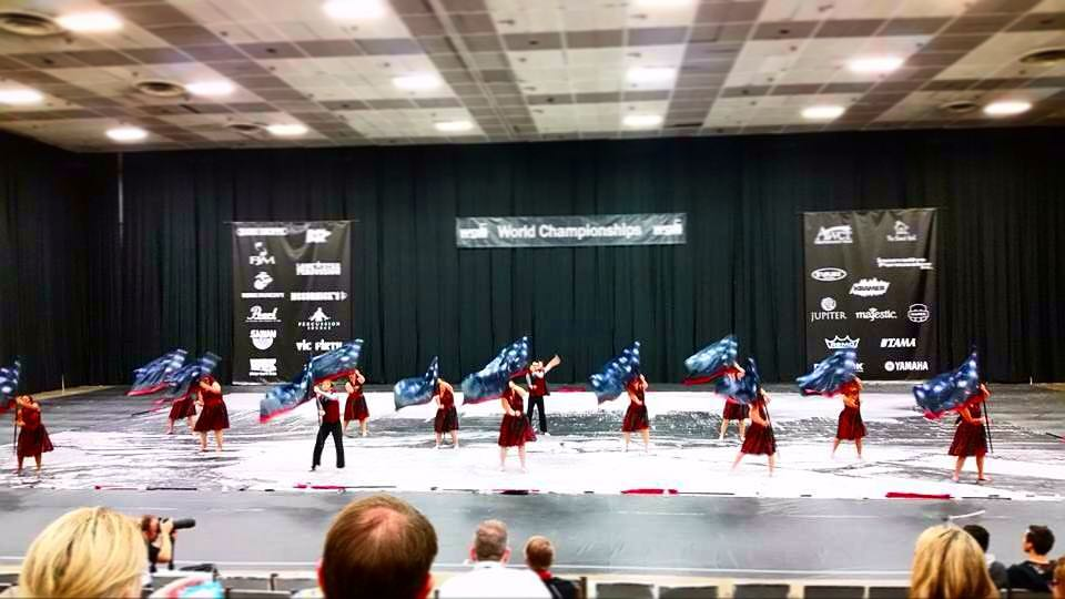 SWG performing in Prelims at the Dayton Convention Center