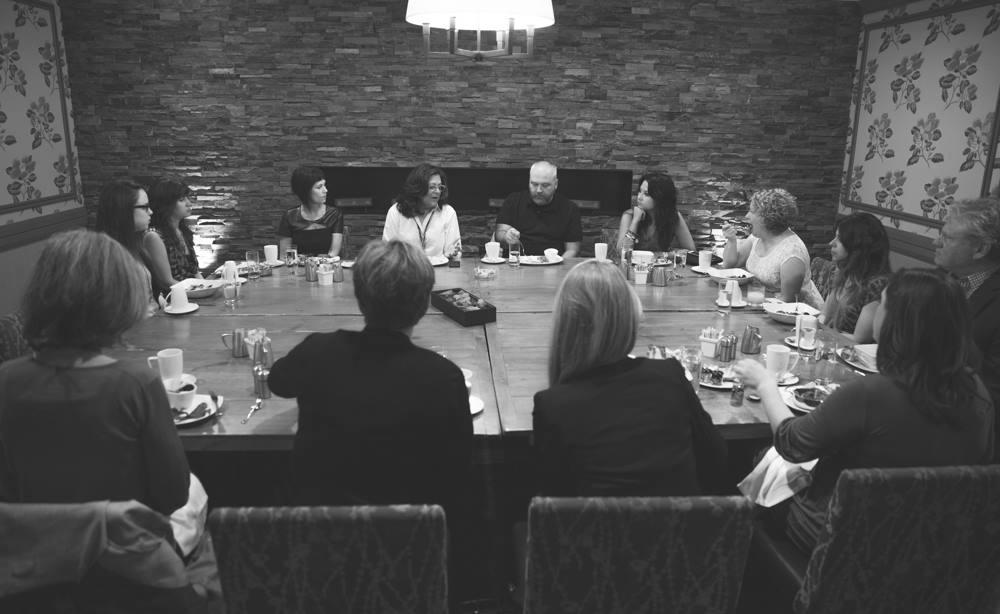 Breakfast with Fern Mallis and the Nashville Fashion Week Directors & Co-Founders at The Hutton Hotel.   Photo by  Daniel C White Photography