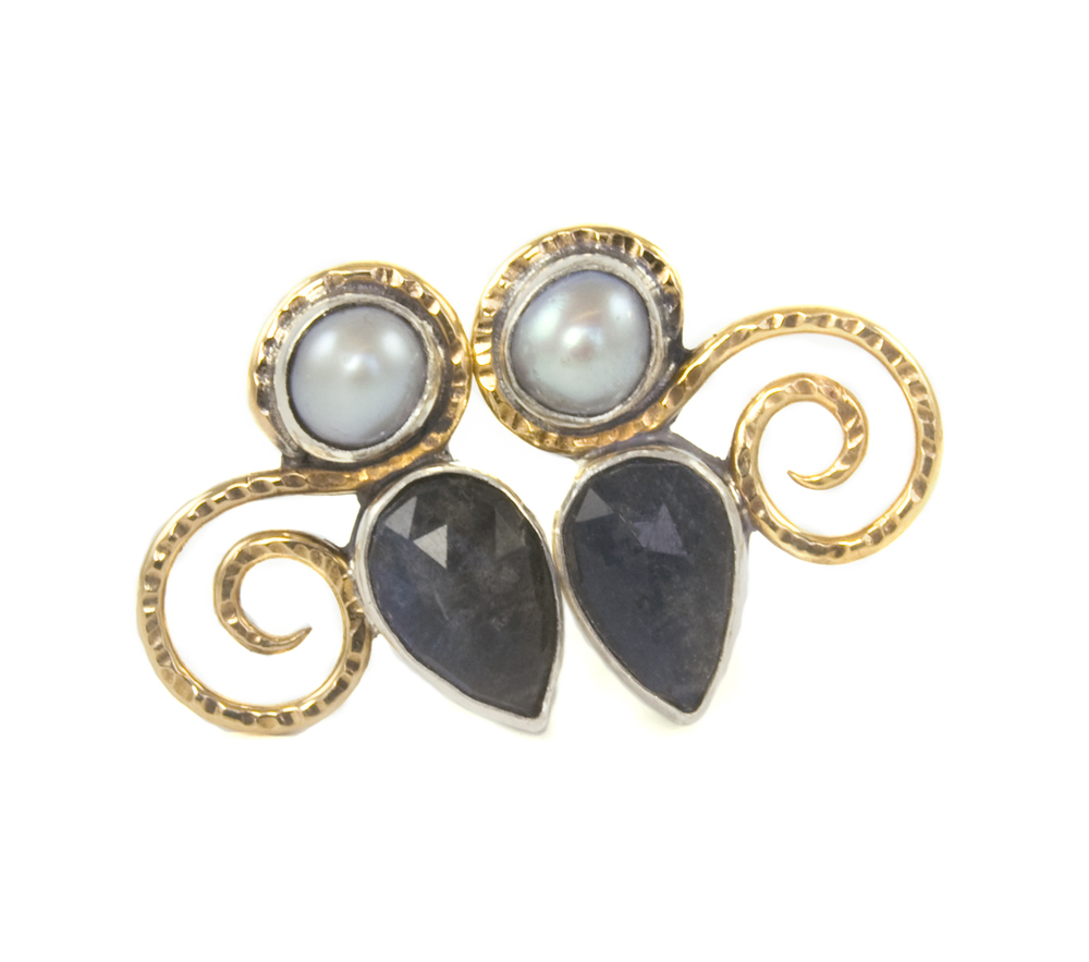 Modern History Collection, Fall 2013 - Danube Earrings