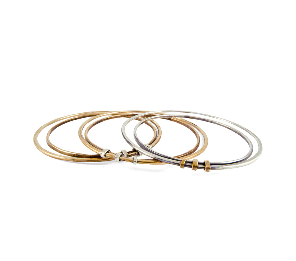 Moderne Simplicity Collection, Spring 2015 - Wrapped Bangles