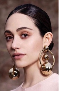 Huge earrings grace the pages of every fashion magazine this season. Worn alone or together, heads are bound to turn.