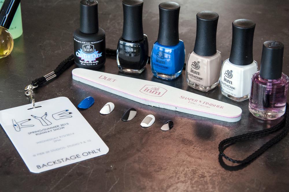 INM nail set + KYE backstage pass