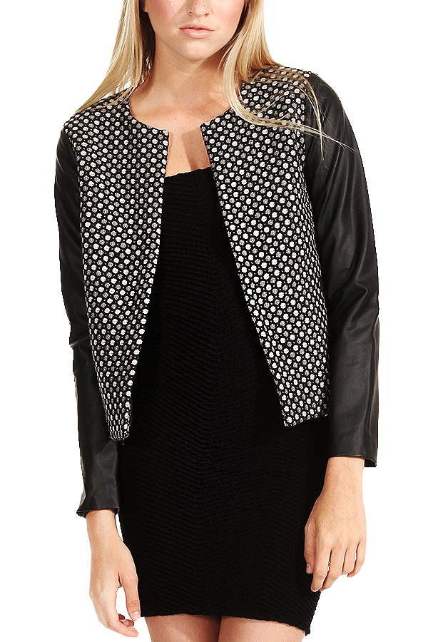 The Dotted Bomber ($45) COMING SOON FALL 14