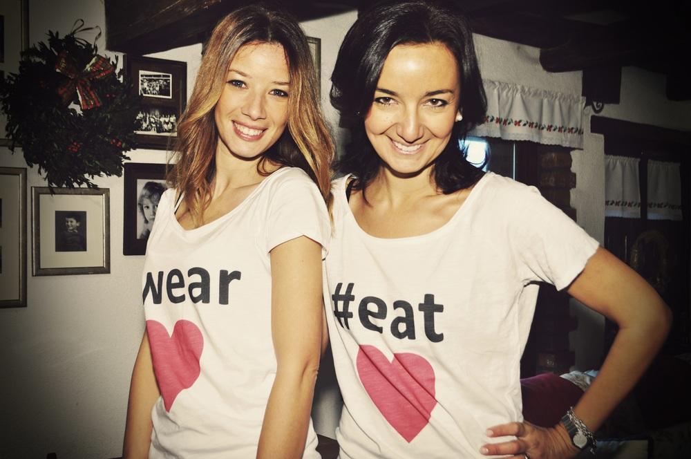 Adriana&Martina for WearEatLove.com