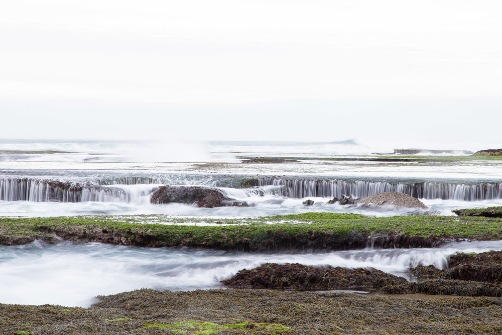 Rockpools at Portsea's London Bridge. Photograph By  Emma Byrnes.
