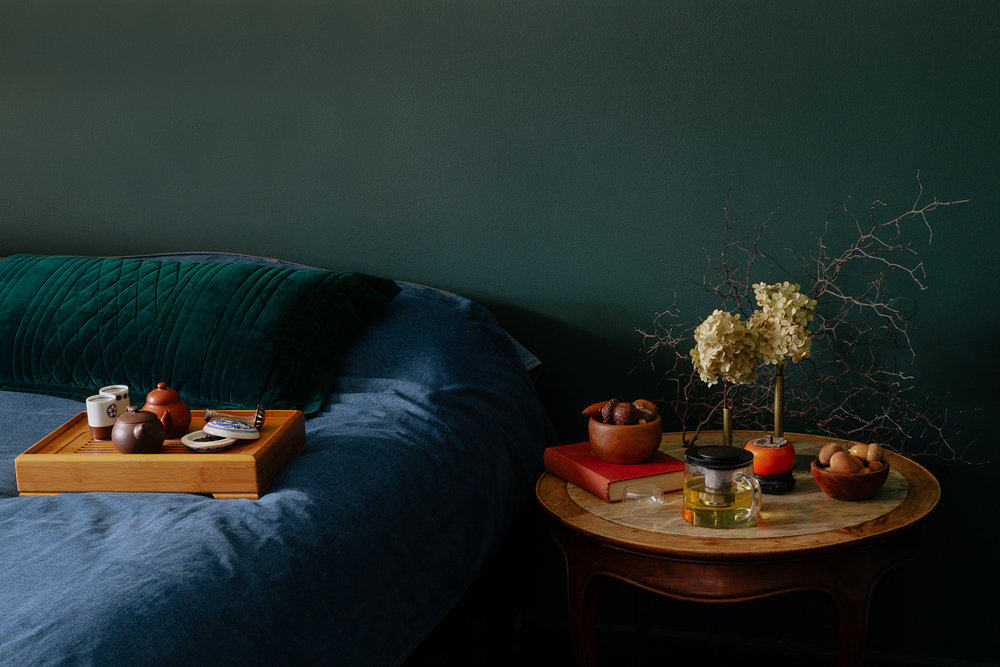 Refining the imagery for Melbourne-based brand  Tea and Sympathy.  Photographs by  Emma Byrnes