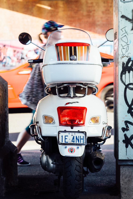 emma byrnes, scooter, vespa melbourne, vespa house