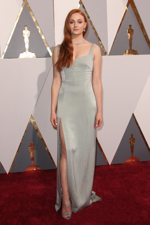 Sophie Turner at the 2017 Oscars