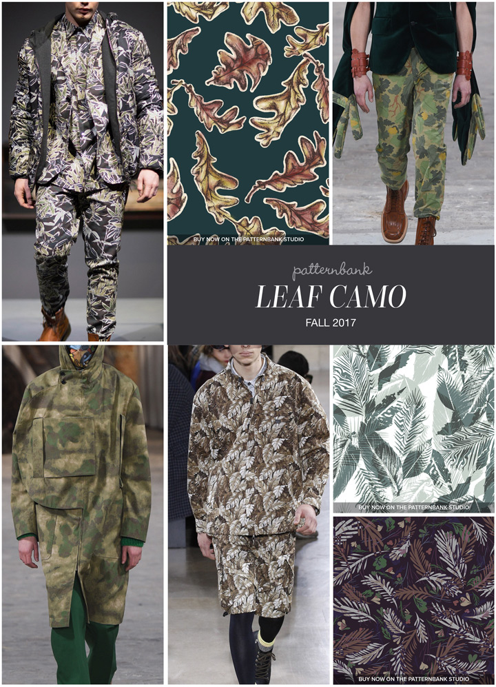 My Falling Leaves print is featured on the Patternbank Blog in the Men's trend report. Click on the image to view the report.