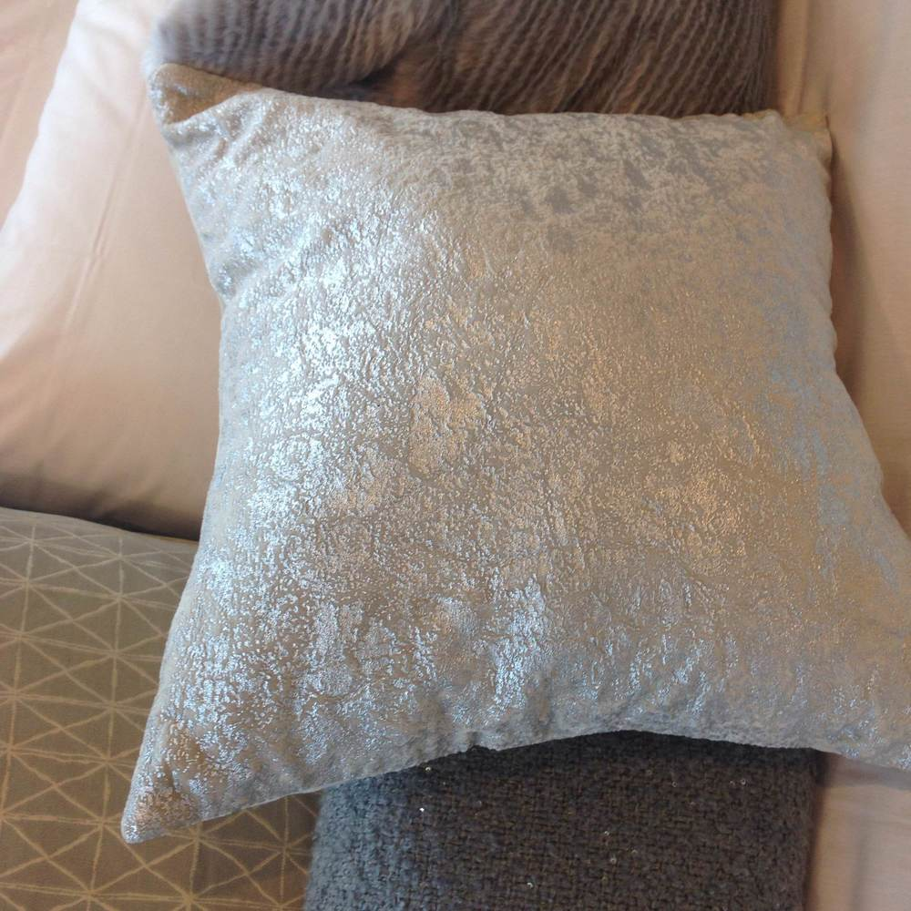 Sparkle pillow.