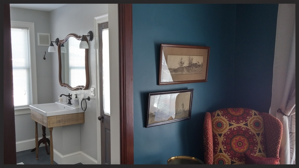Knickerbocker room bathroom