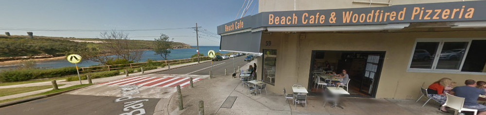 MALABAR CAFE OVERLOOKING THE BEACH