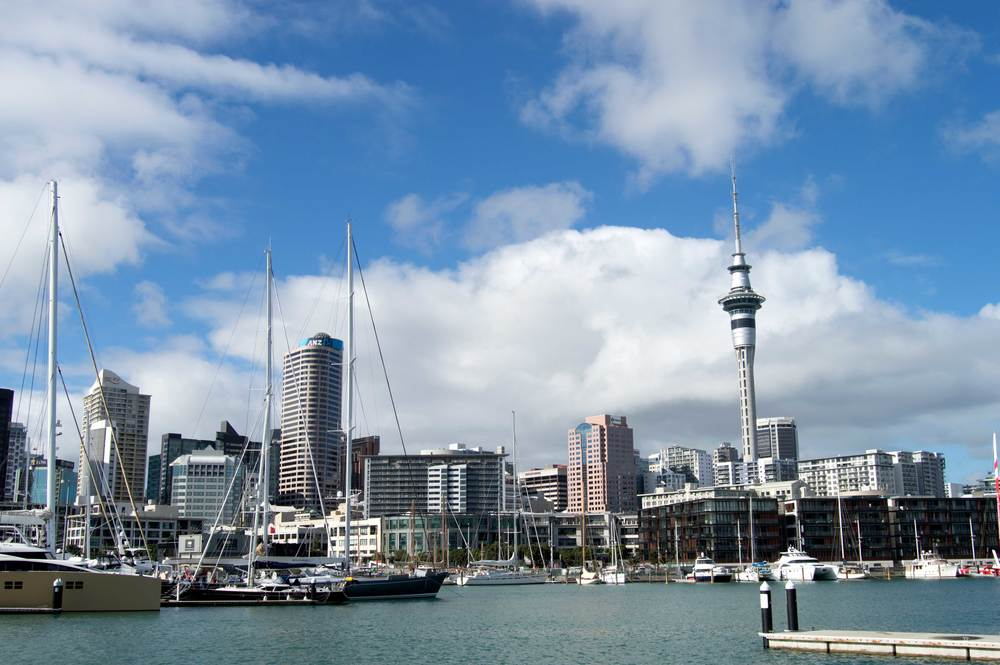 Auckland New Zealand Harbor