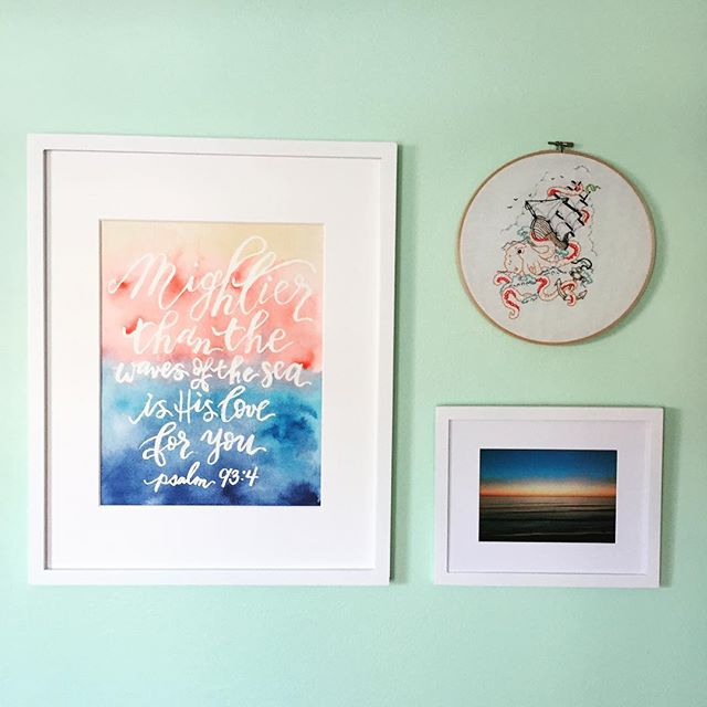A little of 🌅 and a little bit of 🌊. #blotanddotinthewild  Contact @_la_mega for some RAD cross stitching!